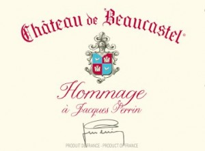Chateau Beaucastel hommage à Jacques Perrin