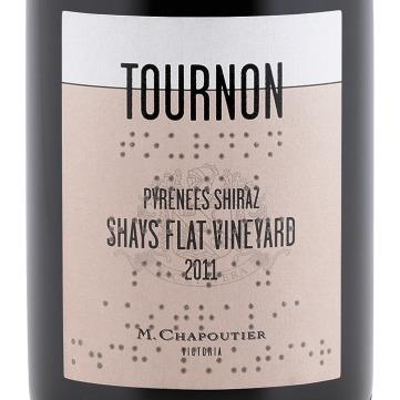 "Chapoutier Australia : Tournon Shays Flat 2011 voted ""Best Wine"" in Victoria Competition"