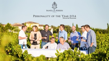 Famille Perrin personality of the year 2014